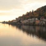Heidelberg river Neckar