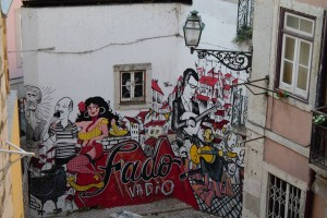 alfama fado graffitti