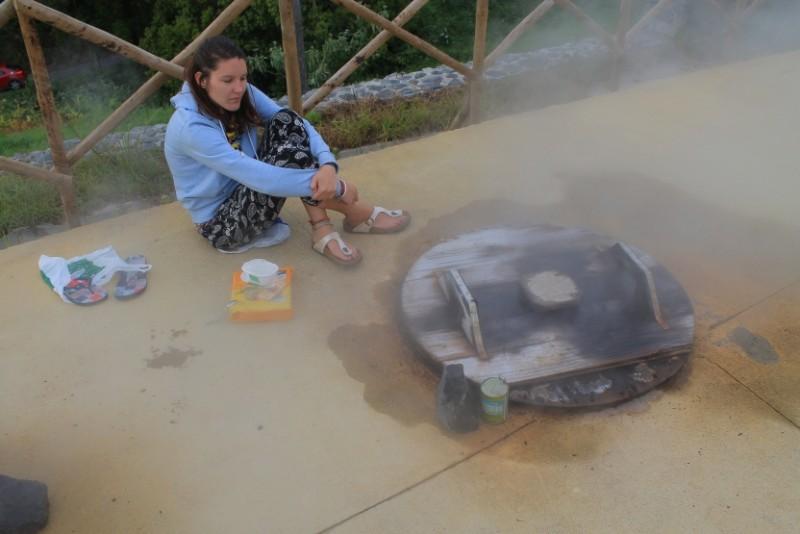 hot springs food
