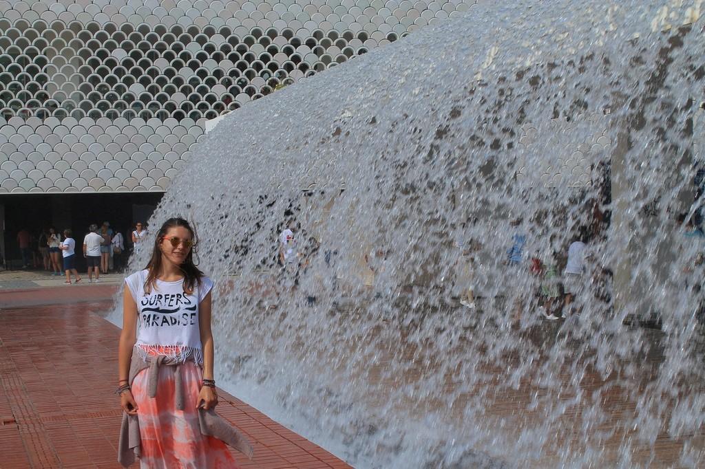 Oriente waterfall