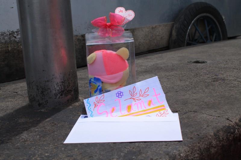baby ceremony bali gift teddy
