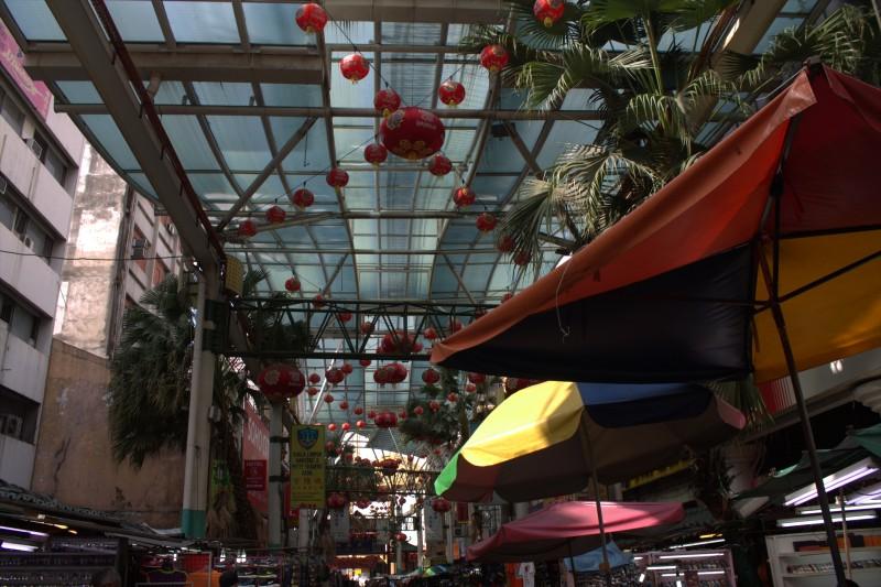 Chinatown decoration, Kuala Lumpur