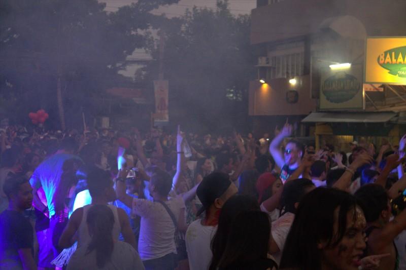 Street party at Sinulog, Cebu
