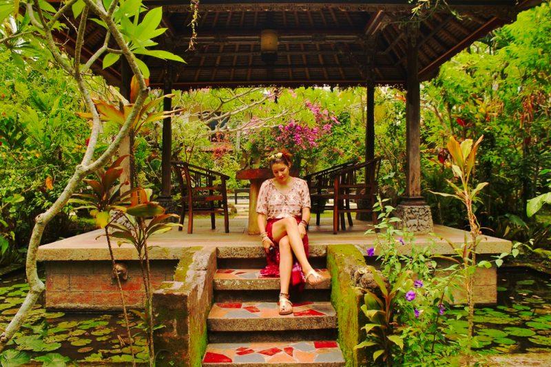 Ubud Inn garden