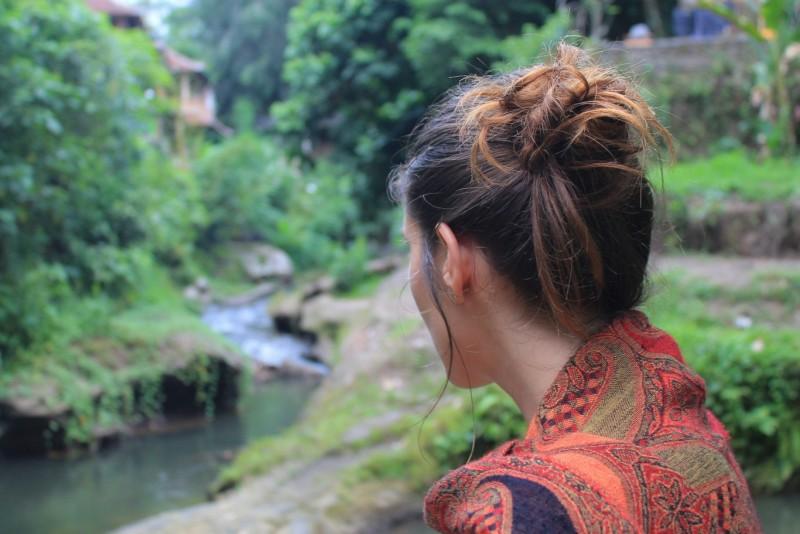 Tina at Tjampuhan valley Ubud