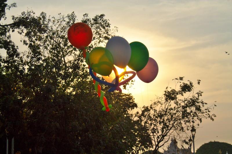 Phnom Penh balloons
