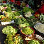 Phnom Penh market food
