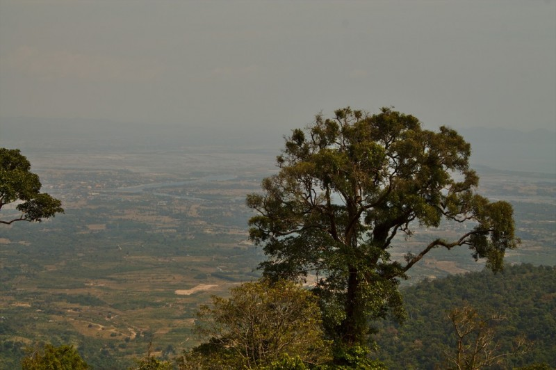 On the way to Bokor National Park