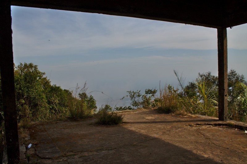 View from abandoned house, Bokor National Park