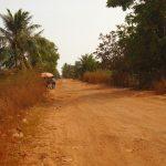 Kampot Fish Island road