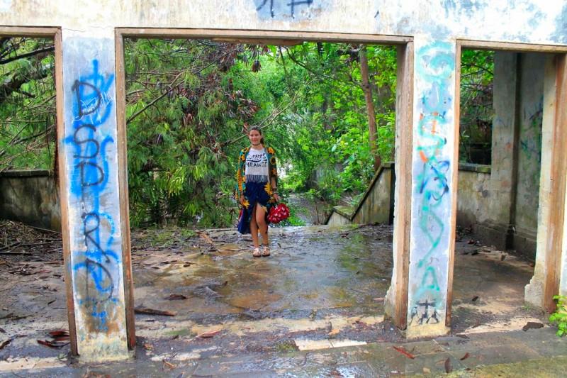 Abandoned themepark Bali