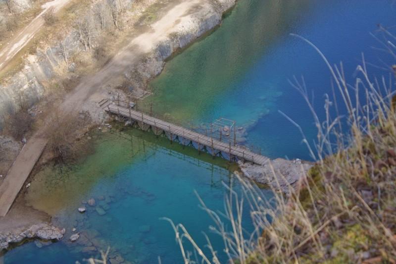 Bridge of Velká Amerika, Mořina