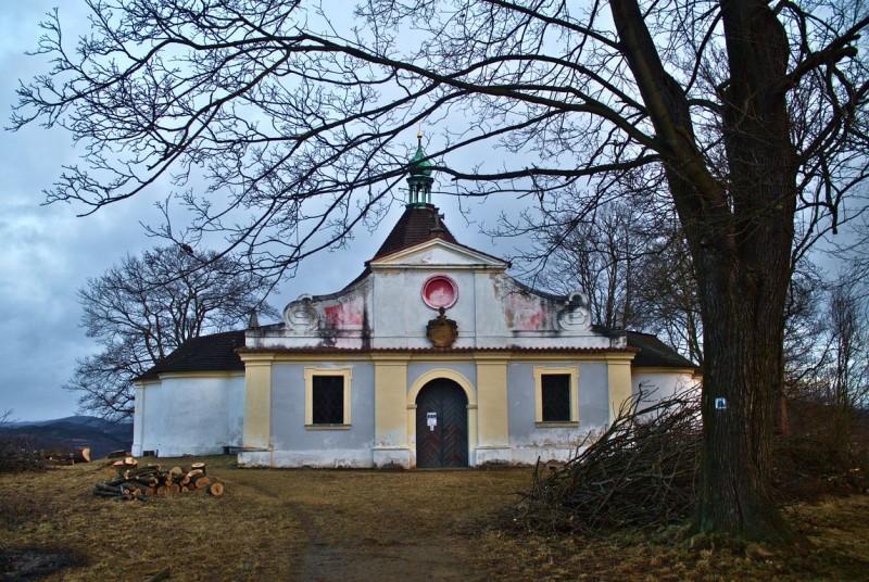 Uitzichtpunt Křížová Hora in Český Krumlov