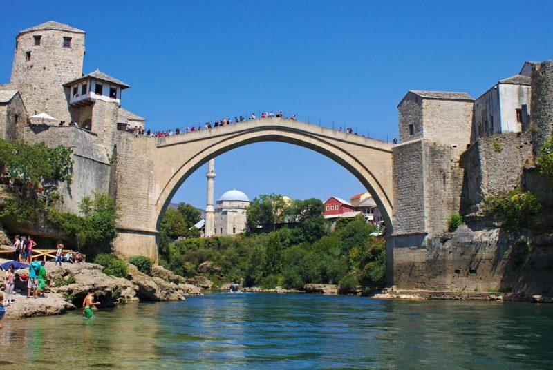 Mostar, Old Bridge, Neretva