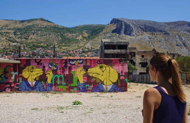 Mostar, street art