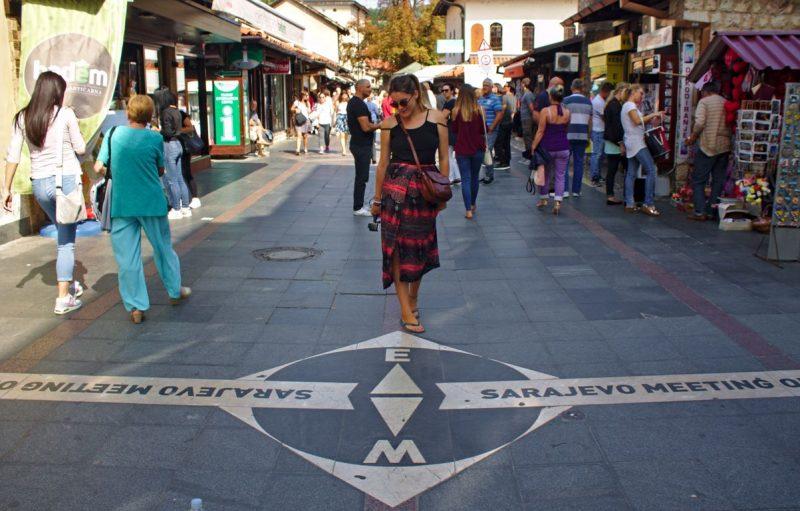 Where East meets West, Sarajevo