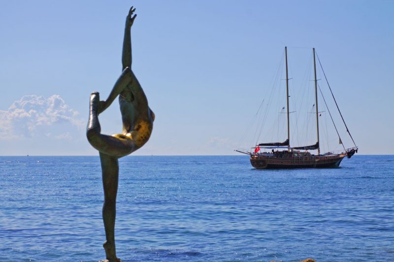 Montenegro, Budva, Mogren, ballerina