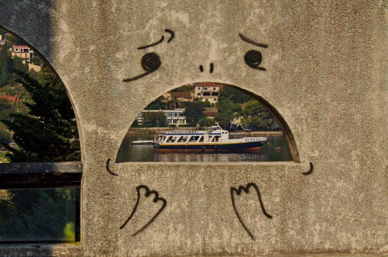 Montenegro, Kotor, Hotel Fjord, Wall art