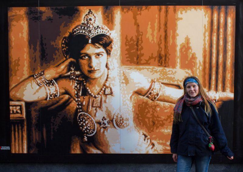 Mata Hari installation in Leeuwarden