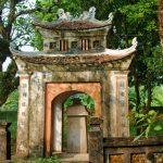At a temple in Hoa Lư, Ninh Bình