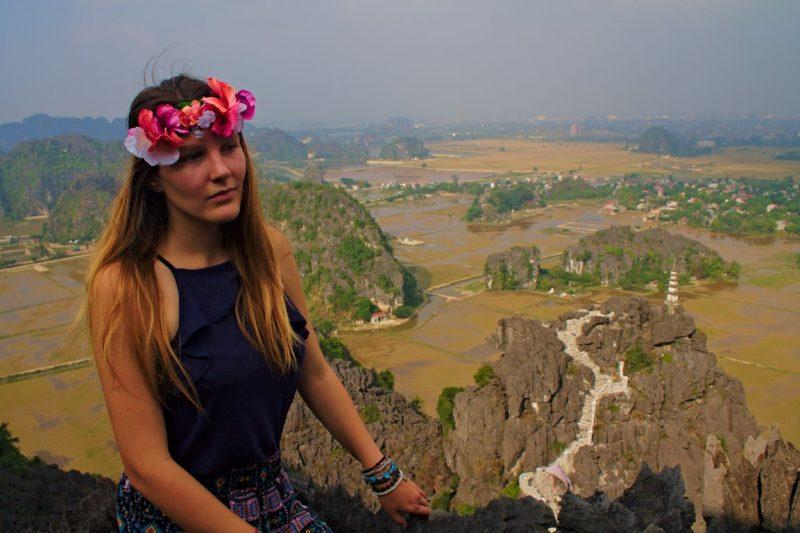 Uitzicht vanaf Hang Múa, Tam Coc