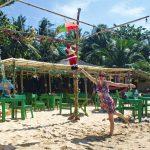 December Christmas time on Phú Quốc beach