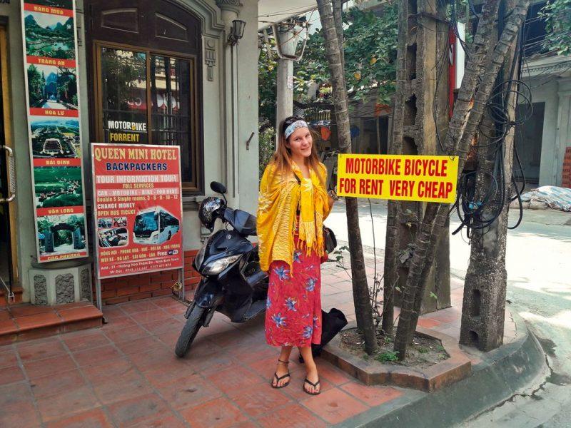Ninh Bình motorbike rental