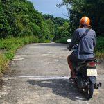 Steep roads of Monkey Trail, Da Nang