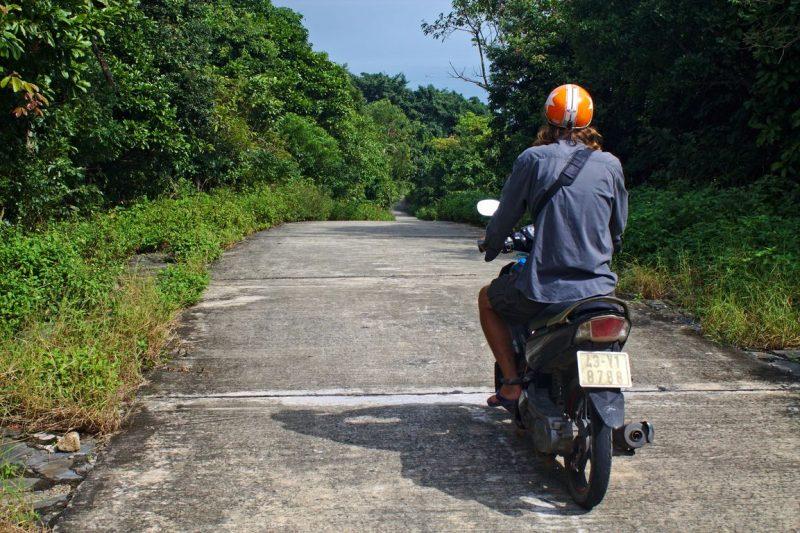 Steile bergweg Monkey Pass, Da Nang