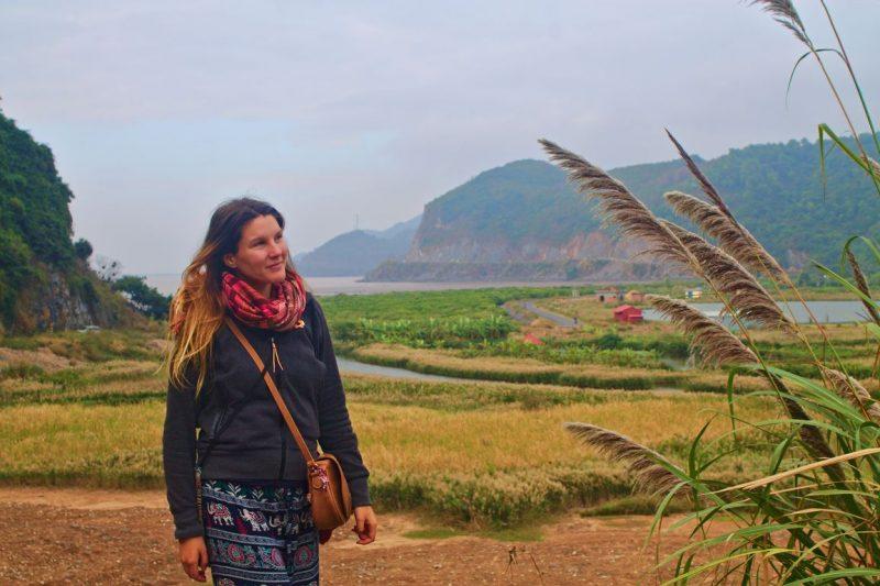 Fields on Cát Bà island